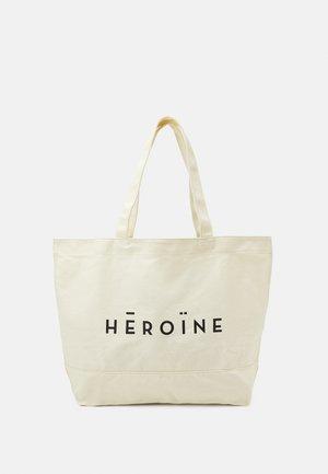SHOPPER - Tote bag - natural white