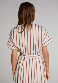 Oui - Print T-shirt - light stone red / pink - 2