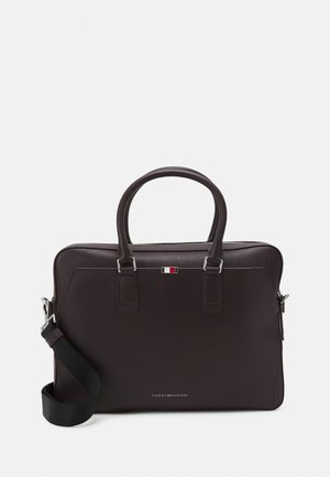 BUSINESS SLIM COMP BAG - Briefcase - purple