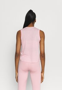 Nike Performance - CROCHET TANK - Funktionsshirt - pink glaze/canyon rust/rust pink - 2