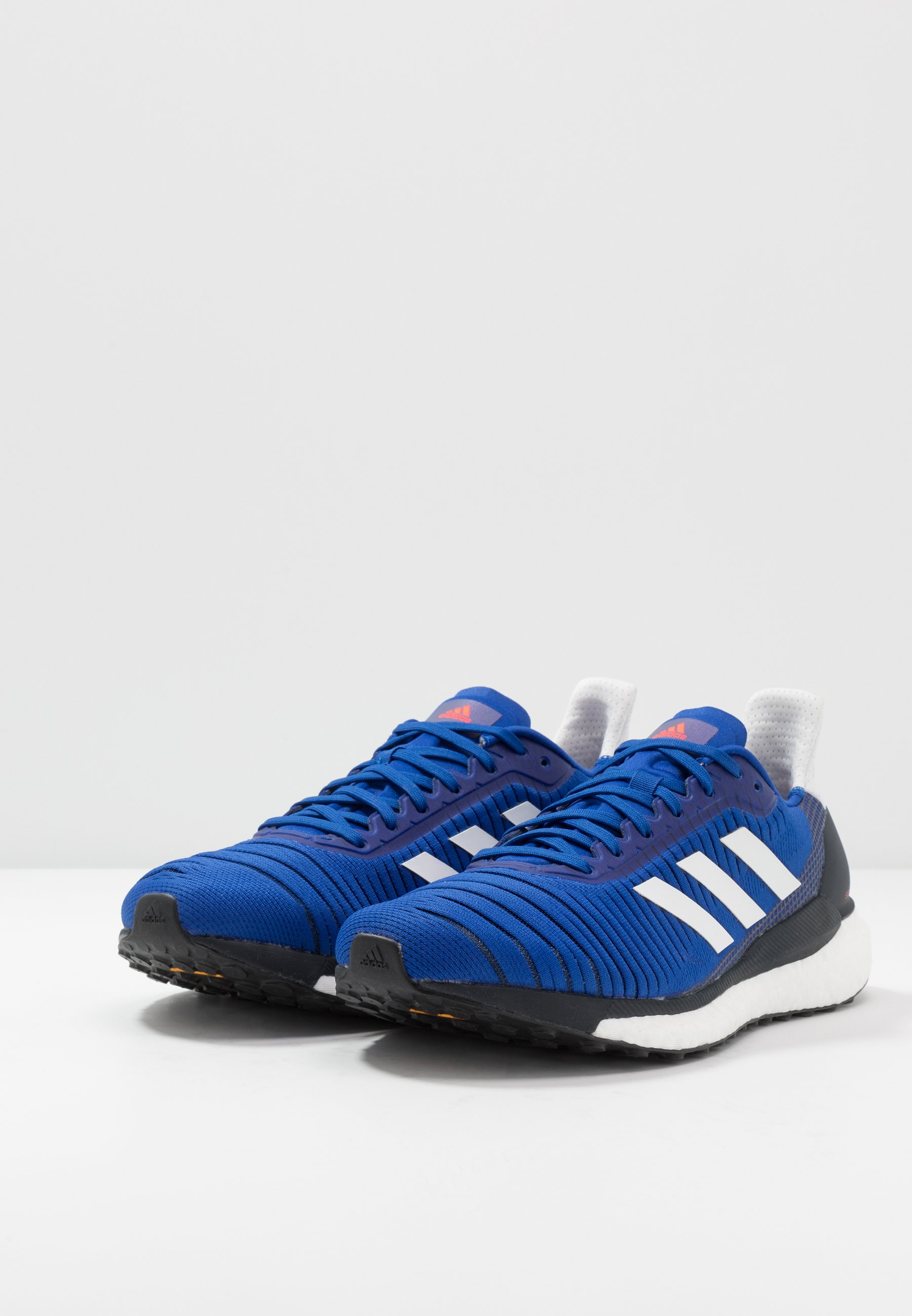adidas Performance SOLAR GLIDE 19 - Laufschuh Neutral - royal blue/dash grey/solar red/royal - Herrenschuhe uu42t