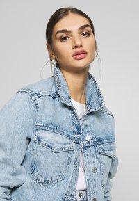 Gina Tricot - TRUCKER JACKET - Denim jacket - lt blue snow - 3