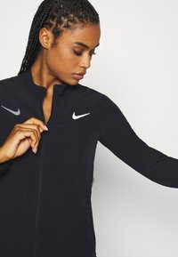 Nike Performance - OLYMPICS JACKET TRACKSUIT - Sports jacket - black/silver - 4