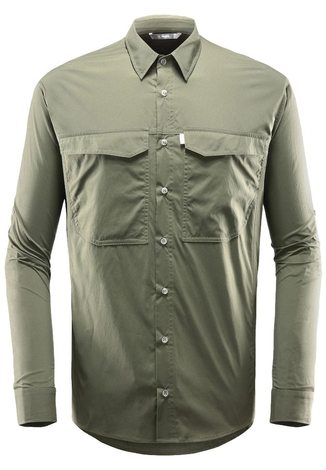 SALO LS SHIRT  - Shirt - deep woods