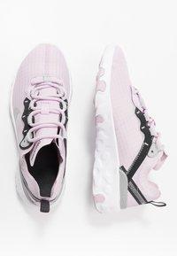 Nike Sportswear - RENEW ELEMENT 55 - Sneakers basse - iced lilac/metallic silver/off noir/light smoke grey - 0