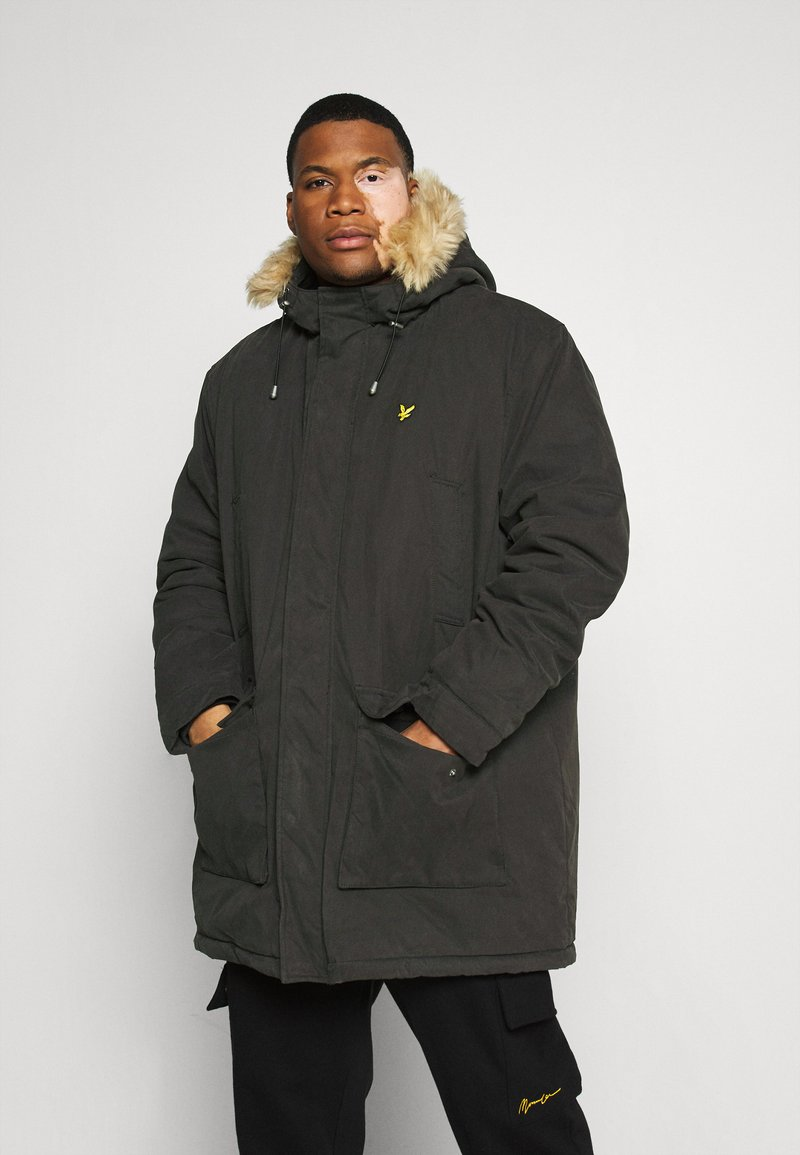 Lyle & Scott - PLUS WINTER WEIGHT LINED - Parka - jet black