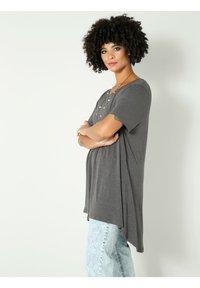 Angel of Style - Basic T-shirt - anthrazit - 2