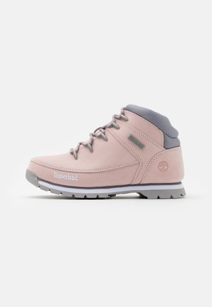 EURO SPRINT - Lace-up ankle boots - light pink