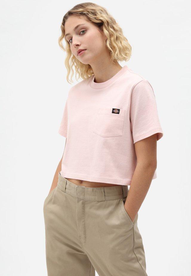 PORTERDALE CROP - T-shirt basique - light pink