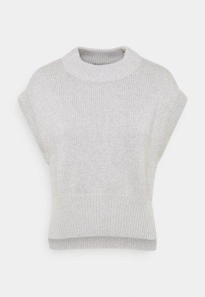 MEG VEST - T-shirts - grey melange