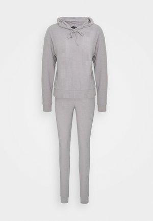 SET  - Leggings - Trousers - grey