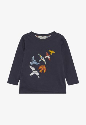 FELIX REVERSIBLE BABY - Long sleeved top - navy