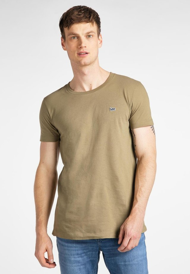 ELONGATED TEE - T-shirt basic - utility green
