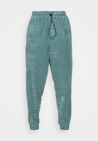Topshop - TOWLLING JOGGER - Tracksuit bottoms - ice blue - 4