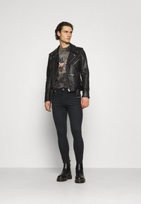 11 DEGREES - Jeans Skinny Fit - washed black - 1