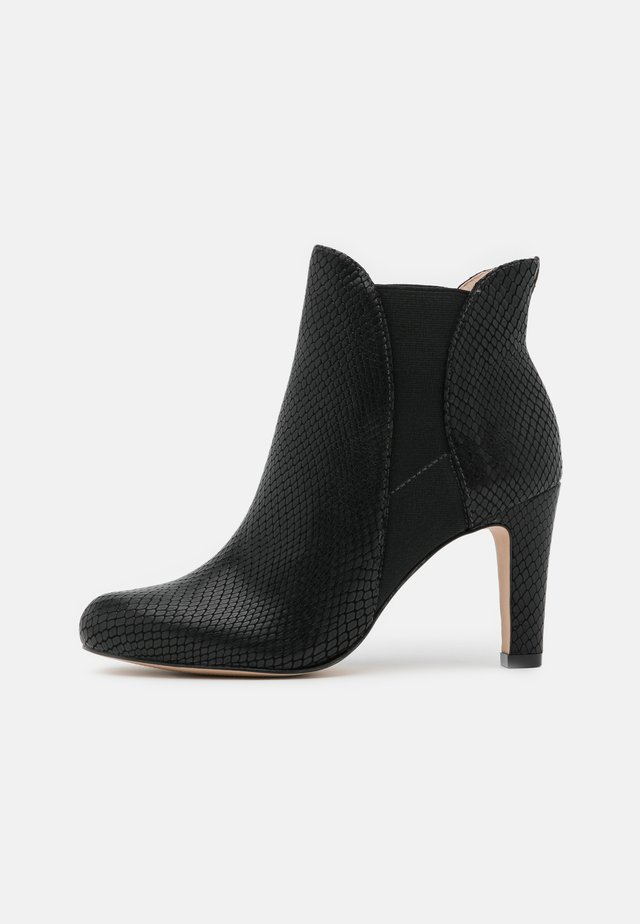 JEENA - High heeled ankle boots - noir