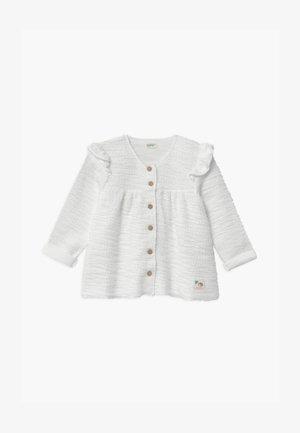 Mikina na zip - white