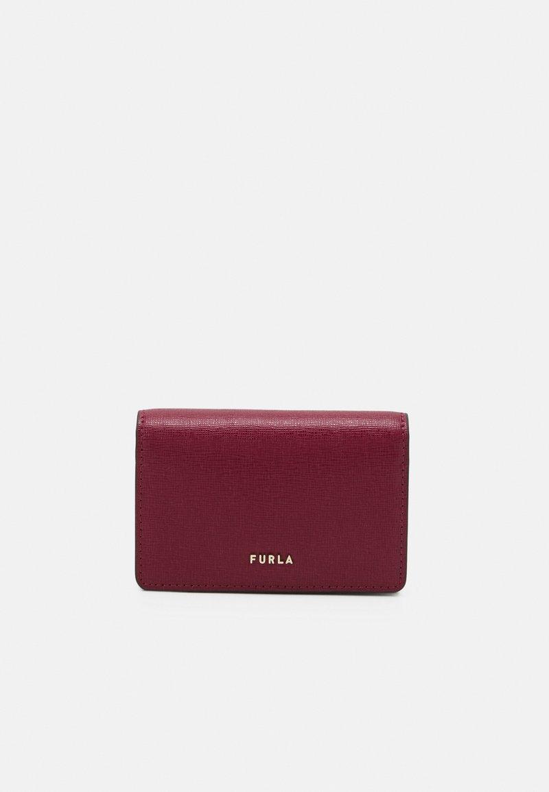 Furla - BABYLON S CARD CASE - Peněženka - ciliegia/ballerina