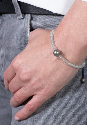 AQUA PEARL BRACELET - Bracelet - aquamarine