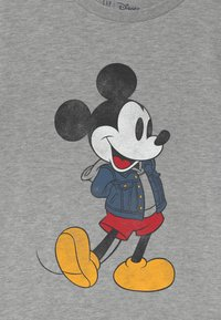 GAP - BOY MICKEY - Print T-shirt - light heather grey - 2