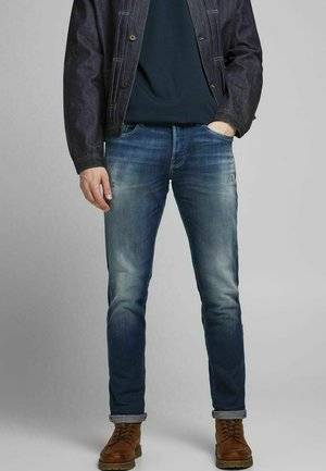 GLENN ROYAL - Slim fit jeans - blue denim