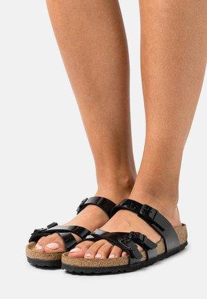 FRANCA - Pantofle - black