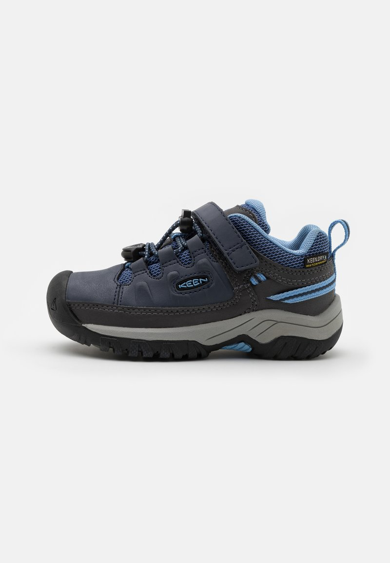 Keen - TARGHEE LOW WP UNISEX - Hiking shoes - blue nights/della blue