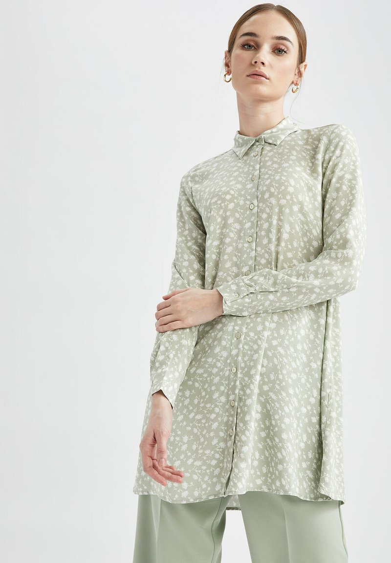 DeFacto - Button-down blouse - ecru