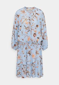 Mos Mosh - THERESA THISTLE DRESS - Košilové šaty - bel air blue - 0