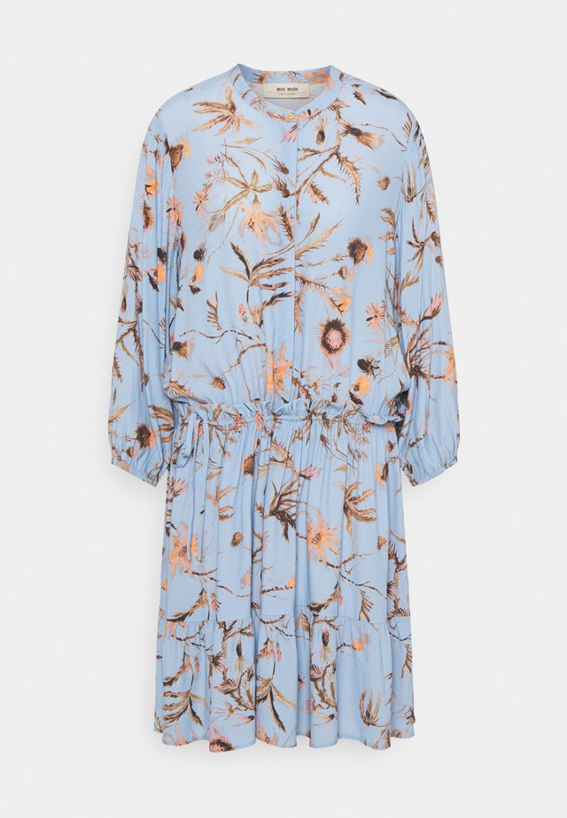THERESA THISTLE DRESS - Shirt dress - bel air blue