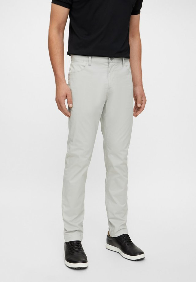 Trousers - stone grey