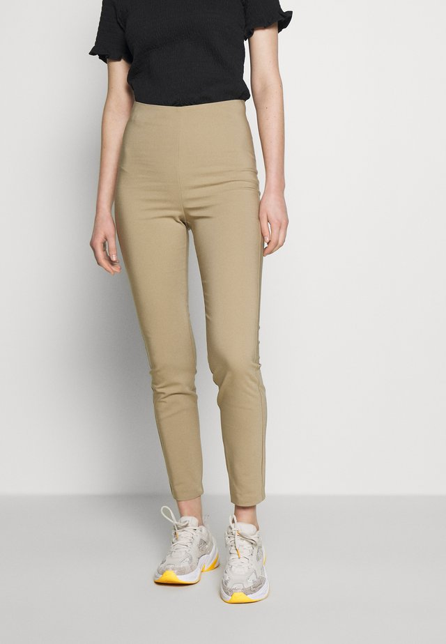 TROUSERS KELLY - Stoffhose - beige