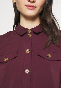 Vero Moda - VMCOCO DRESS  - Shirt dress - winetasting - 5