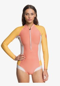 Roxy - Rash vest - pink/yellow - 0