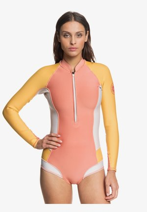 Rash vest - pink/yellow