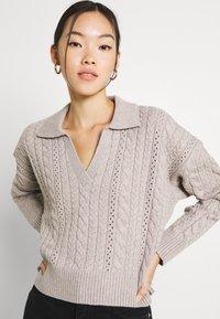 Fashion Union - LORI - Trui - grey - 3
