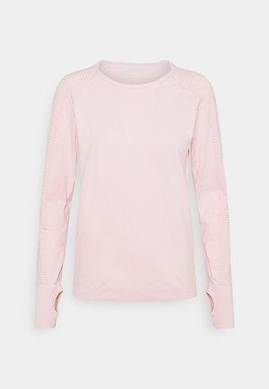 SEAMLESS LONG SLEEVE - Maglietta a manica lunga - soft pink
