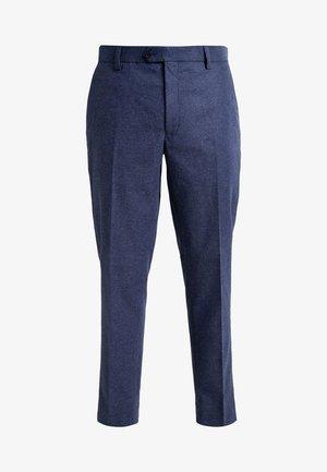 SLIM FIT - Suit trousers - blue