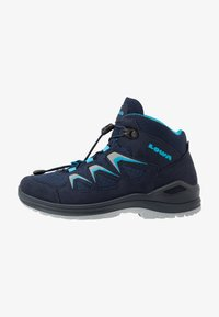 Lowa - INNOX EVO GTX QC JUNIOR UNISEX - Hiking shoes - navy/türkis - 1