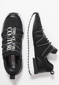 Versace Jeans Couture - LINEA SUPER - Sneakers - black - 1