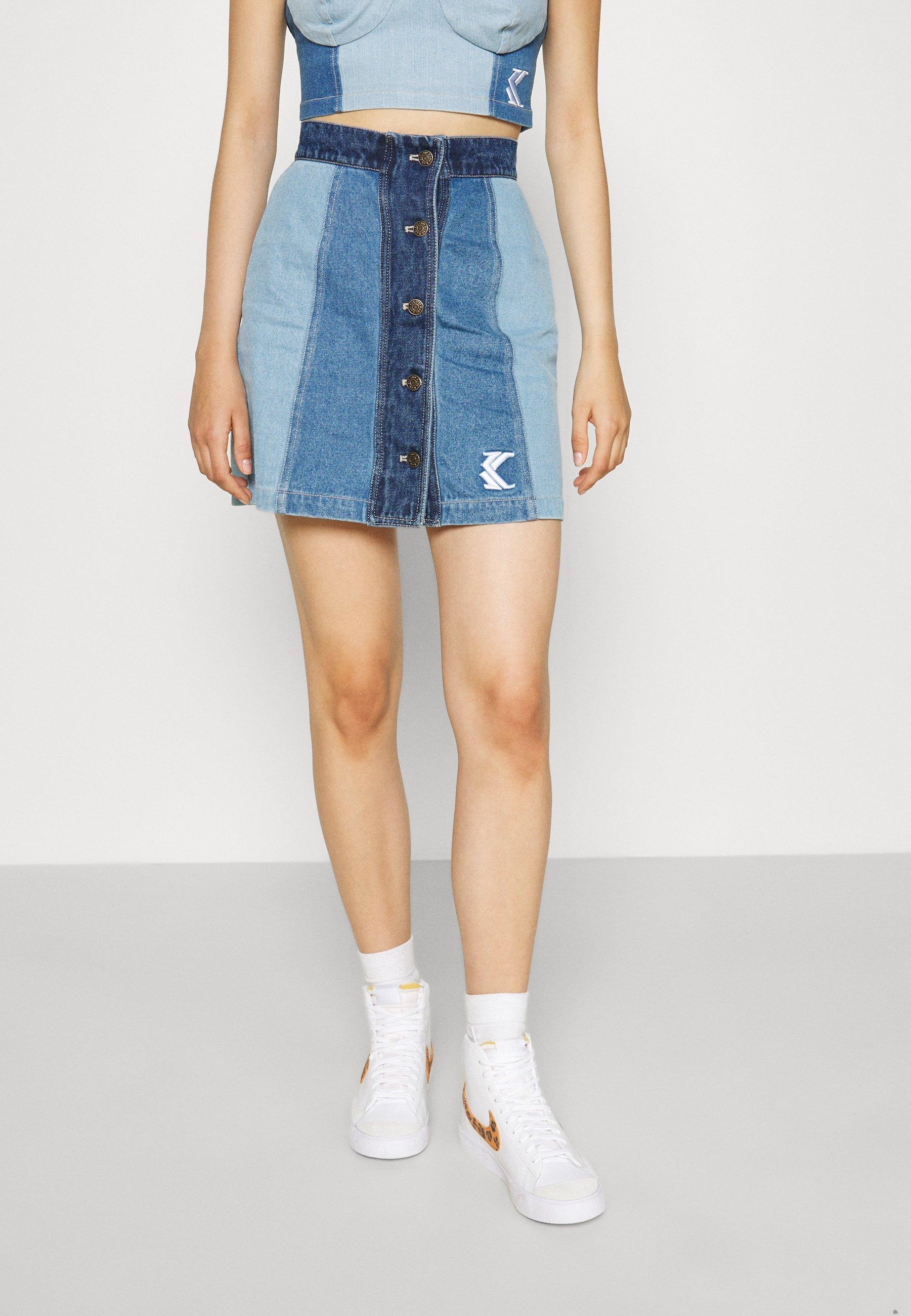 Femme BLOCK SKIRT - Minijupe