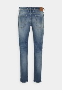 Replay - ANBASS AGED - Straight leg jeans - blue denim - 7
