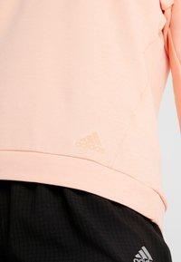 adidas Performance - RUN CRU - Langarmshirt - glow pink/heather - 5