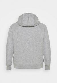 Nike Sportswear - HOODIE  - Mikina skapucí - dark grey heather/white - 1