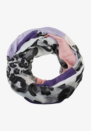 Snood - violett-flieder-altrose