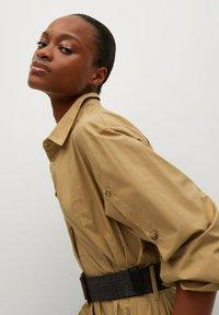 Mango - BELINDA - Košilové šaty - mellembrun - 4