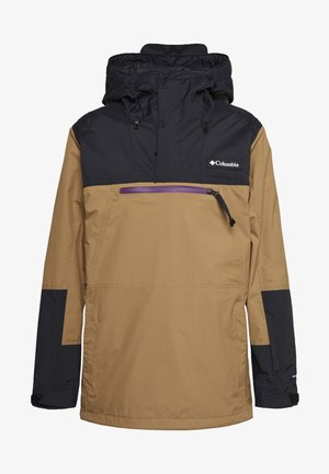 PARK RUN ANORAK - Snowboard jacket - delta/black/plum