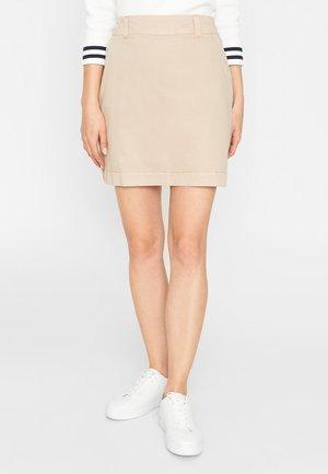 A-line skirt - oxford tan