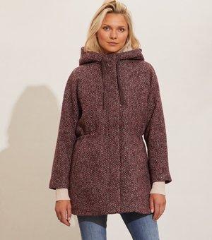 Short coat - multi pink