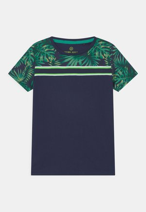 SMALL BOYS - T-shirt con stampa - dress blues